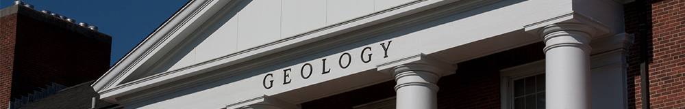 University of Maryland, Department of Geology